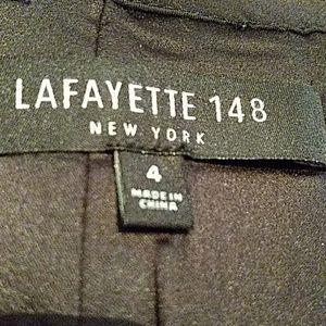 Lafayette 148 New York Skirts - Sz 4 black & gold skirt